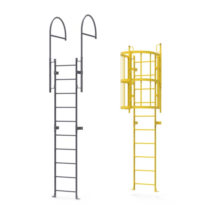 ladders galv and yellow 00019